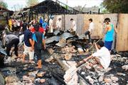 Điều tra vụ cháy 42 phòng trọ công nhân ở Cà Mau