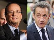 Bầu cử Pháp: Ứng viên Hollande dẫn điểm