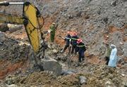 Tìm thấy thi thể nạn nhân đầu tiên vụ sạt lở ở Thái Nguyên