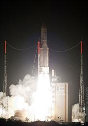 VINASAT-2 đi vào đúng quỹ đạo