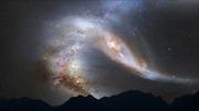 Dải Ngân hà sẽ đâm trực diện vào thiên hà khác