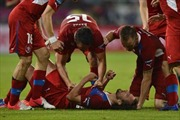 EURO 2012: Ba Lan bị loại - HLV F. Xmuđa sớm nói lời từ biệt