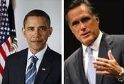 Bầu cử Mỹ: Tỷ lệ ủng hộ ông Obama vượt xa so với ông Romney
