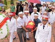 Tuyên Quang đón nhận hài cốt liệt sỹ tại Lào
