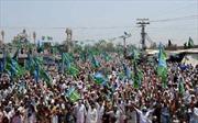 Dân Pakistan phản đối nối lại tuyến tiếp vận cho NATO
