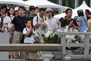 Nhật kỷ niệm 67 năm ngày Mỹ ném bom nguyên tử xuống Hirôsima