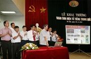 Khai trương báo Nhân Dân điện tử tiếng Trung