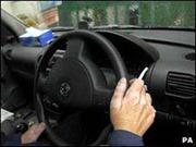 Hút thuốc lá trong ô tô làm tăng độc tố