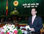 Báo cáo Chính phủ về tình hình thực hiện kế hoạch phát triển KT-XH 2012 và nhiệm vụ 2013 (phần 1)