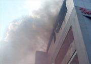 Cháy siêu thị lớn nhất Hà Tĩnh, một người chết