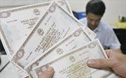 Huy động thêm hơn 1.600 tỷ đồng trái phiếu Chính phủ