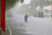Hà Nội: Mưa to, cảnh báo ngập lụt ở nhiều tuyến phố
