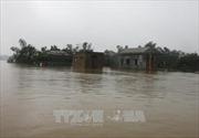 Mưa lớn kéo dài gây ngập lụt tại Quảng Trị