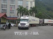 Cửa khẩu Tân Thanh đã thông thoáng sau gần 10 ngày ùn tắc xe chở hàng nông sản