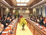 Phó Chủ tịch Quốc hội Phùng Quốc Hiển thăm, chúc Tết Kiểm toán Nhà nước