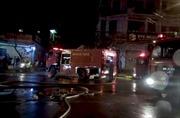 Chi nhánh ngân hàng VPBank tại Quảng Bình cháy rụi sau nửa giờ phát hỏa