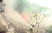 Ô nhiễm nghiêm trọng từ vụ cháy bãi rác khổng lồ ở Bình Phước