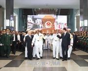 Cử hành trọng thể Lễ truy điệu và an táng nguyên Thủ tướng Phan Văn Khải