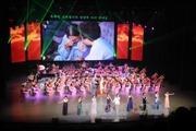 Đoàn nghệ thuật hai miền Triều Tiên cùng biểu diễn tại Bình Nhưỡng