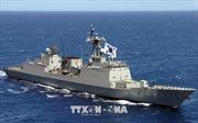 Đội tàu chiến Hàn Quốc lên đường tham gia cuộc tập trận RIMPAC