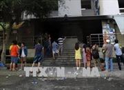 Người dân chung cư Carina Plaza dần ổn định cuộc sống sau vụ cháy