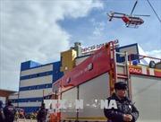 Cháy trung tâm mua sắm ở Moskva, 1 người thiệt mạng