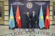 Bộ trưởng Bộ Công an Tô Lâm thăm và làm việc tại CH Kazakhstan