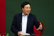Phó Thủ tướng Phạm Bình Minh: Thái Nguyên cần quan tâm thúc đẩy, thu hút nhà đầu tư đến tìm hiểu cơ hội hợp tác