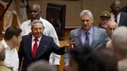 Thời khắc tân Chủ tịch Cuba Miguel Diaz-Canel Bermudez tuyên thệ nhậm chức