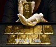 Giá vàng thế giới chấm dứt 4 phiên tăng giá liên tiếp
