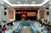 Trưởng ban Dân vận Trung ương Trương Thị Mai làm việc tại tỉnh Cà Mau