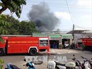 Hỏa hoạn thiêu rụi 500 m2 nhà xưởng tại Bình Dương