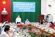 Phó Chủ tịch Quốc hội Phùng Quốc Hiển thăm và làm việc tại huyện đảo Phú Quốc