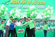 Sau 5 năm, chương trình Ngày hội đi bộ MILO thu hút 70.000 học sinh