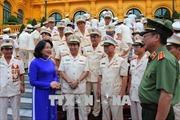 Phó Chủ tịch nước Đặng Thị Ngọc Thịnh tiếp Đoàn đại biểu điển hình tiên tiến trong Công an nhân dân