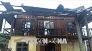 Lốc xoáy làm sập nhà, một người tử vong ở Đắk Nông