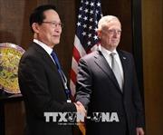 Bộ trưởng Quốc phòng Mỹ, Hàn Quốc 'thảo luận sâu' về các cuộc tập trận chung