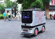 Bắc Kinh triển khai dịch vụ giao hàng bằng robot