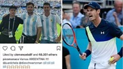 WORLD CUP 2018: Andy Murray gây sốc vì chế nhạo đồng nghiệp sau trận thua của Argentina