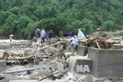 Nhiều địa phương tại Lai Châu bị cô lập do mưa lũ