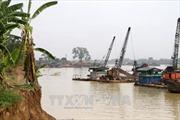Phú Thọ và Vĩnh Phúc phối hợp xử lý hoạt động khai thác cát trái phép