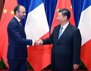 Trung Quốc, Pháp cam kết đối phó chính sách 'Nước Mỹ trước tiên'