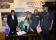 Malaysia và Austraila hợp tác đối phó với những thách thức an ninh khu vực