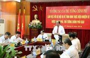 Tổ công tác của Thủ tướng kiểm tra việc thực hiện nhiệm vụ tại Bộ Nội vụ
