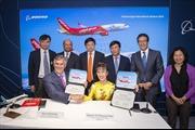 Boeing và Vietjet ký Hợp đồng mua 100 máy bay