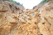 Hòa Bình: Một người thiệt mạng trên lán trại do bị sạt lở đất đá