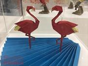 Vẻ đẹp nghệ thuật gấp giấy Origami qua triển lãm 'Những đôi cánh'