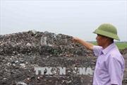 Lợi dụng đêm tối đổ trộm rác thải công nghiệp