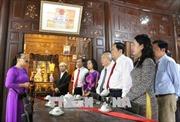 Chủ tịch Ủy ban Trung ương MTTQ Việt Nam Trần Thanh Mẫn thăm và làm việc tại tỉnh An Giang