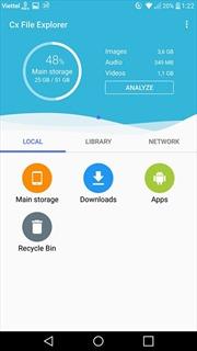 Ứng dụng quản lý dữ liệu và chuyển file từ smartphone lên máy tính không cần dây cáp